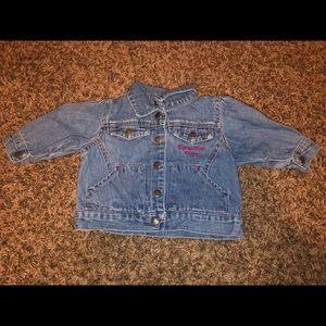 Calvin Klein blue jean jacket